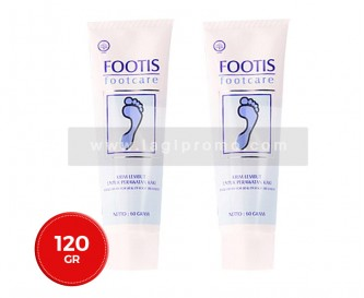 2 Box Footis Footcare Cream 60 gr