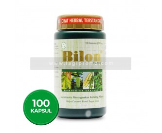 Borobudur Herbal Bilon 100 Kapsul Obat Diabetes